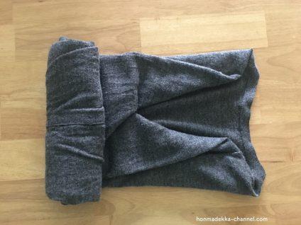 セーター たたみ方