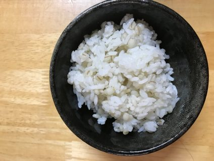 押し麦 水の量