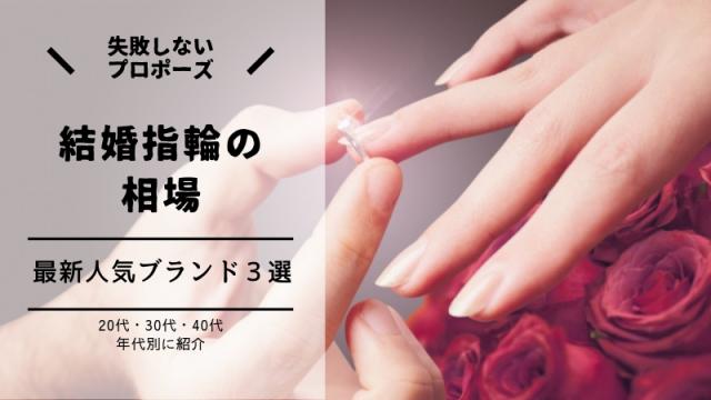 結婚指輪 相場