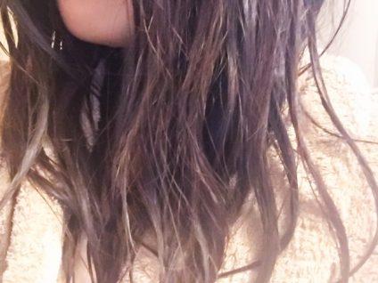 ハトムギ化粧水 髪