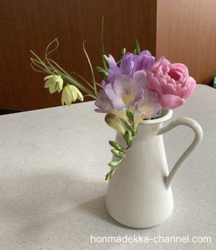 ブルーミーライフ 最初の花